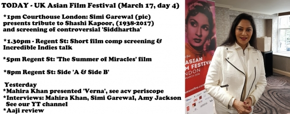 UK Asian Film Festival 2018: Update (Day 4) – Click to enlarge