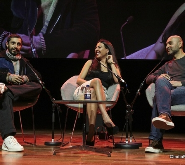 Riz Ahmed and Mohsin Hamid – cultural break-up, make-up and mash-up – from the margins to the mainstream… (London Literature Festival 2018)