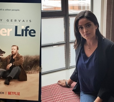 Mandeep Dhillon on part in new Ricky Gervais Netflix comedy drama series