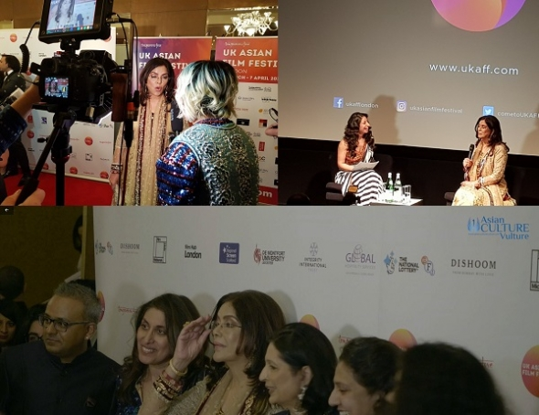 "UK Asian Film Festival 2019: Bollywood icon Zeenat Aman – ""no age appropriate roles"" and gala opening film 'Hamid' review…"