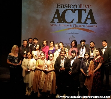 Eastern Eye Arts, Culture and Theatre Awards 2019(ACTA): Winners all the way!