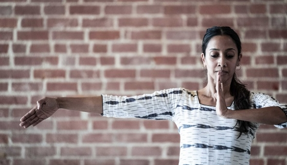 'Here and Now': World premiere for 'choreographer of the future' bharatanatyam artist Mythili Prakash performs at Dance Umbrella…