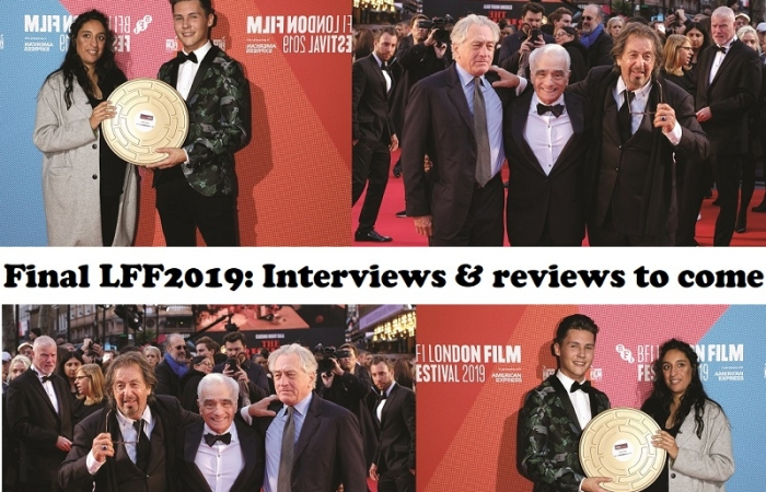 London Film Festival 2019 – A wrap coming (includes review 'The Irishman' and ALL reviews)…