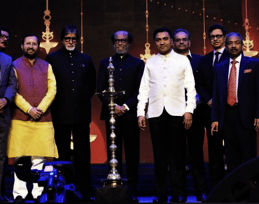IFFI 50 – Amitabh Bachchan and Rajinikanth steal show at opening ceremony; Italian refugee film 'Despite The Fog' opens fest…