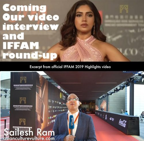 Bhumi Pednekar, star directors – Richie Mehta, Johnny Ma and emerging Fyzal Boulifa and reviews in final round-up of International Film Festival and Awards Macao (IFFAM) 2019