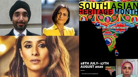 South Asian Heritage Month starts (July 18-August 17)… Anita Rani and Nadiya Hussain talk about its importance and early programme released…