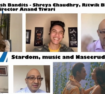 'Bandish Bandits' – Meet Shreya Chaudhry, Ritwik Bhowmik and director Anand Tiwari (video)