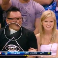 Asian Fan Called for Interference After LeBron James' Ball