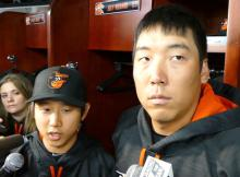 bal-orioles-hyun-soo-kim-on-making-the-roster-20160403