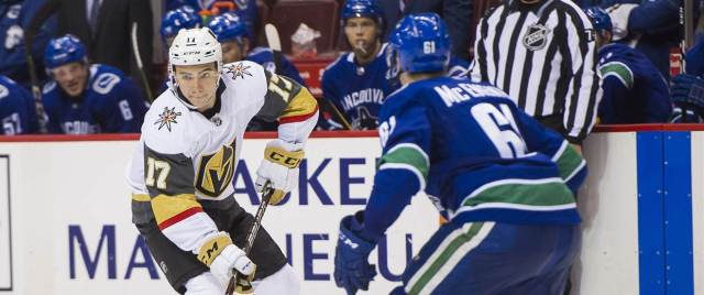 Image: Las Vegas Golden Knights v Vancouver Canucks