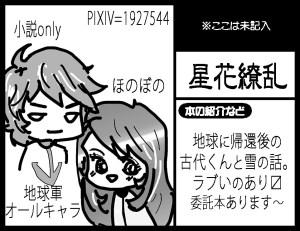 【6号館D り53b】 星花繚乱