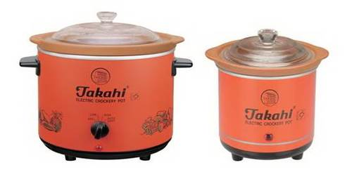 takahi slow cooker crockery pot