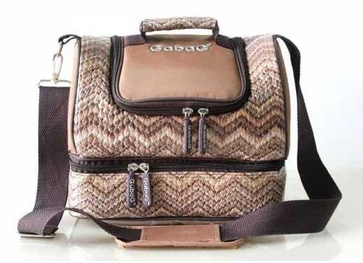 Gabag Cooler Bag Mocca Ethnic