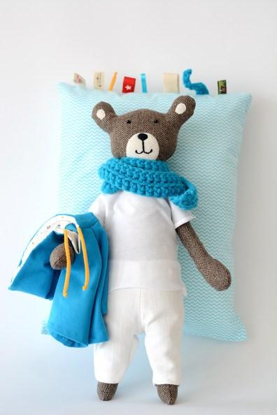 AsiekArt foto handmade teddy bear 6