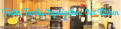 Foster Family Organization  Our Kitchen