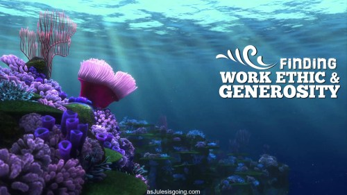 Finding Work Ethic & Generosity
