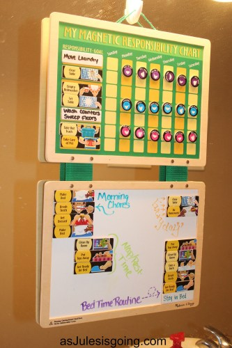 How to Use a Responsibility Chart with Multiple Children