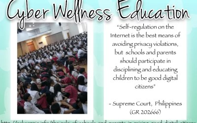 Why Schools Should Have A Cyber Wellness Program
