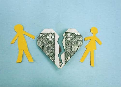 ex husband filed for bankruptcy