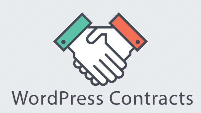 wordpress-contracts