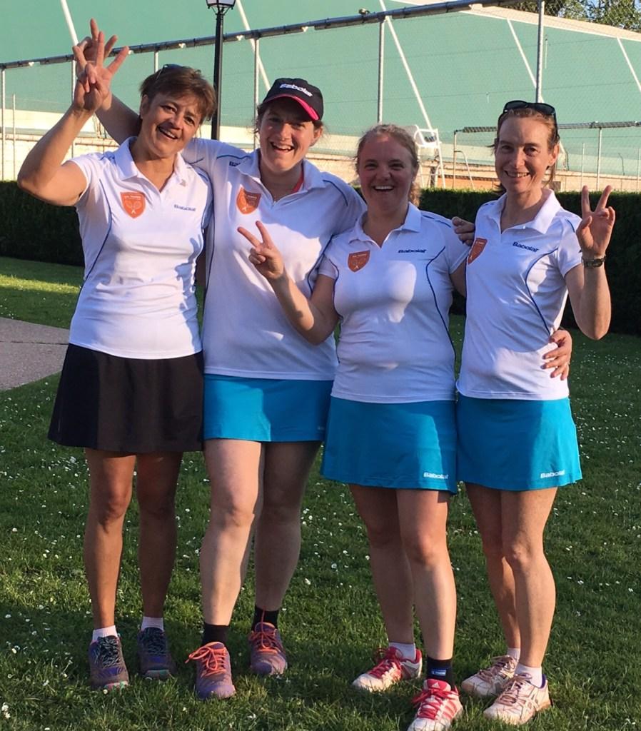 Interclubs séniors 2016 femmes 1