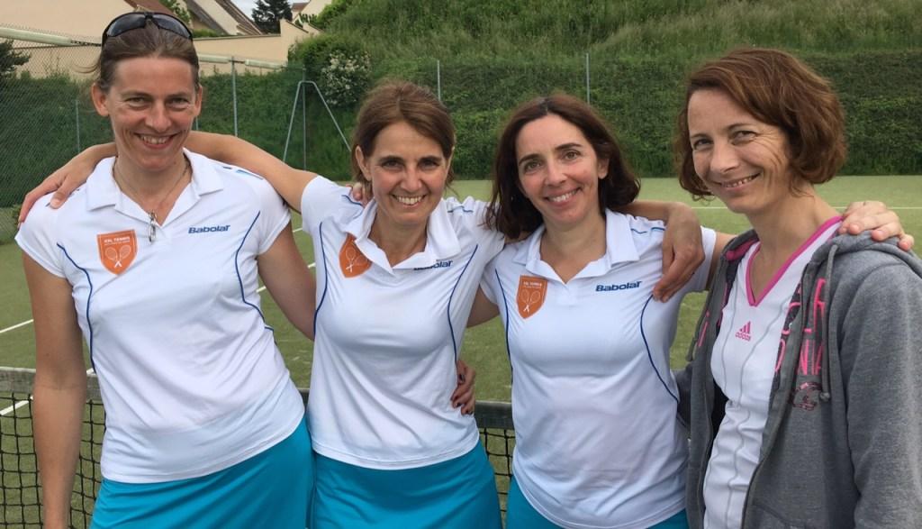 Interclubs séniors 5èmes rencontres - équipe femmes 3