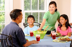 Encourage healthy eating in children