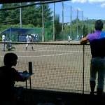 片倉高校の試合です