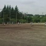 片倉高校の練習です