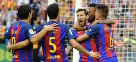 Barça gana 3-2 al Valencia en la Liga BBVA