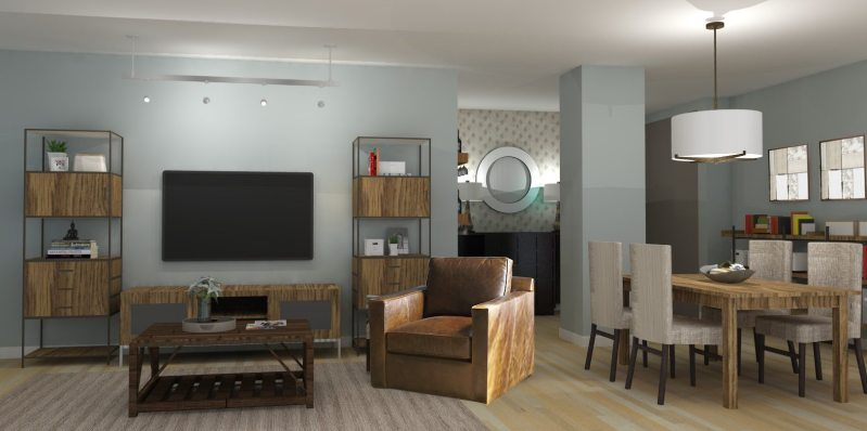 Large Of Transitional Living Room