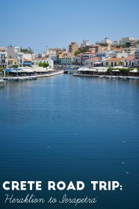 Crete Road Trip: Heraklion to Iearapetra