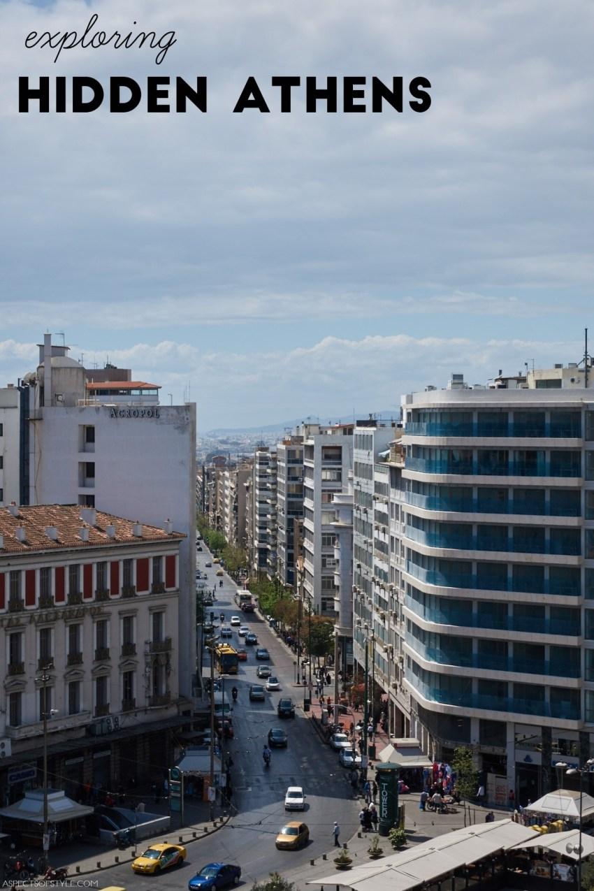 exploring hidden Athens