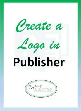 Create a Logo in Publisher - Long