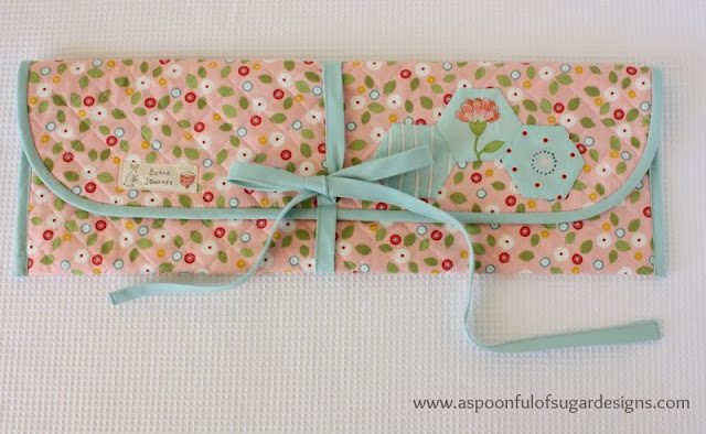 knitting and crochet needle pouch