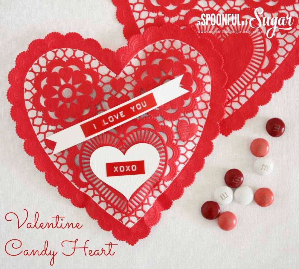 Valentine Candy Heart 1