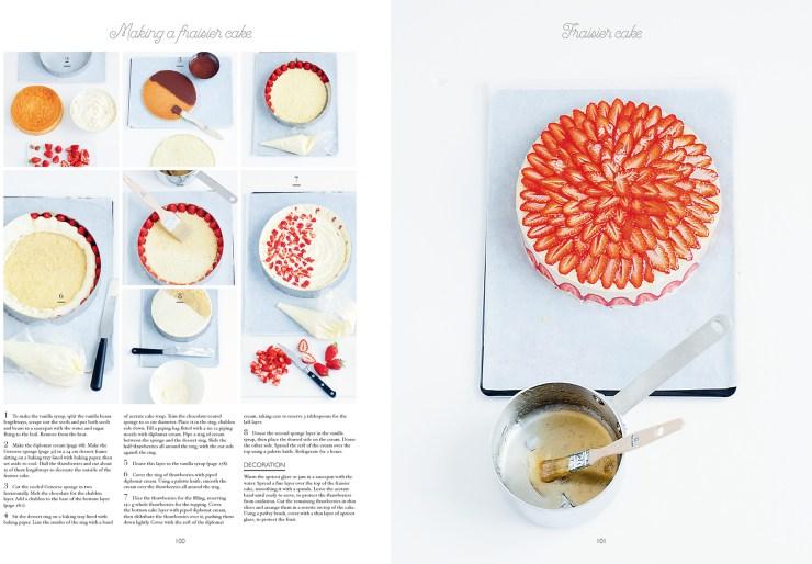 Fraisier Cake Steps