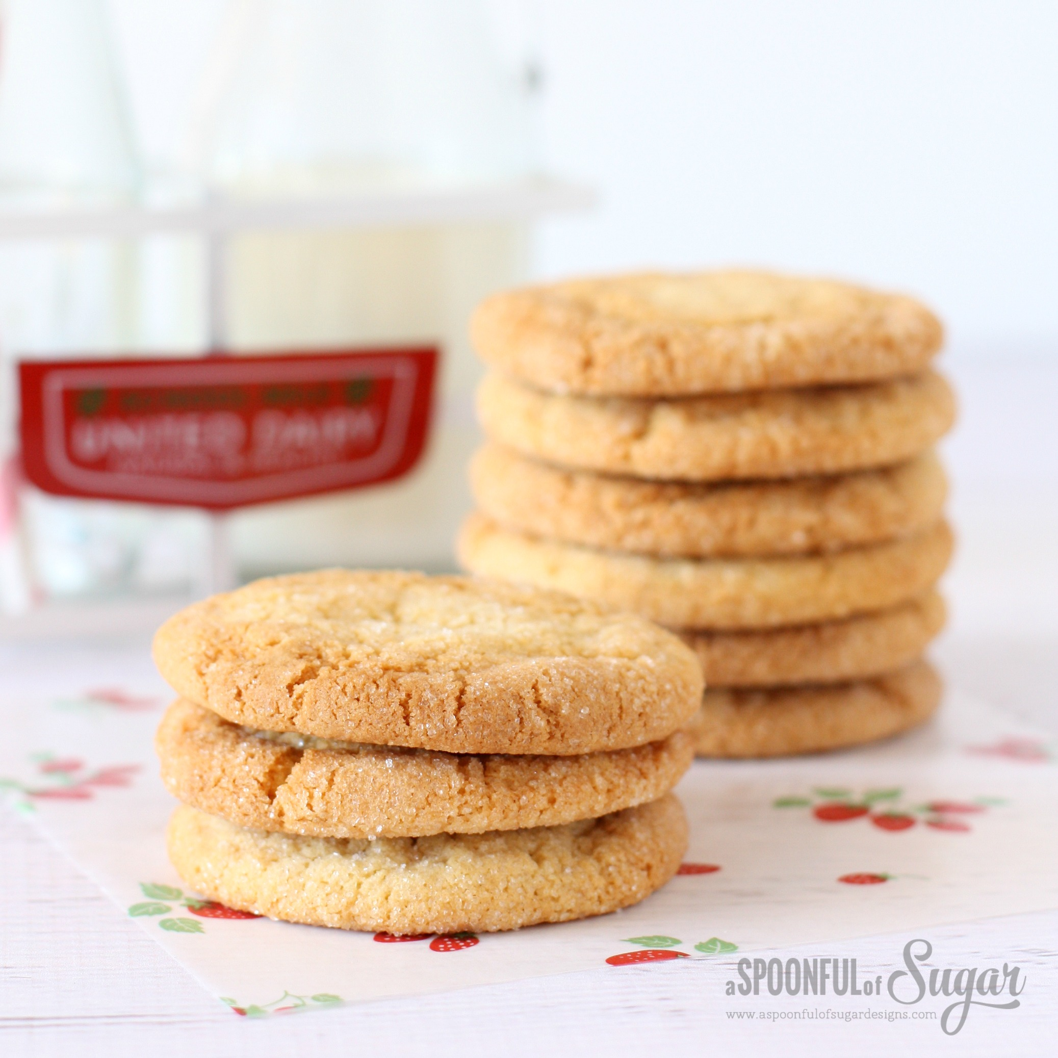 Easy Maple Cookies | A Spoonful of Sugar | Bloglovin'