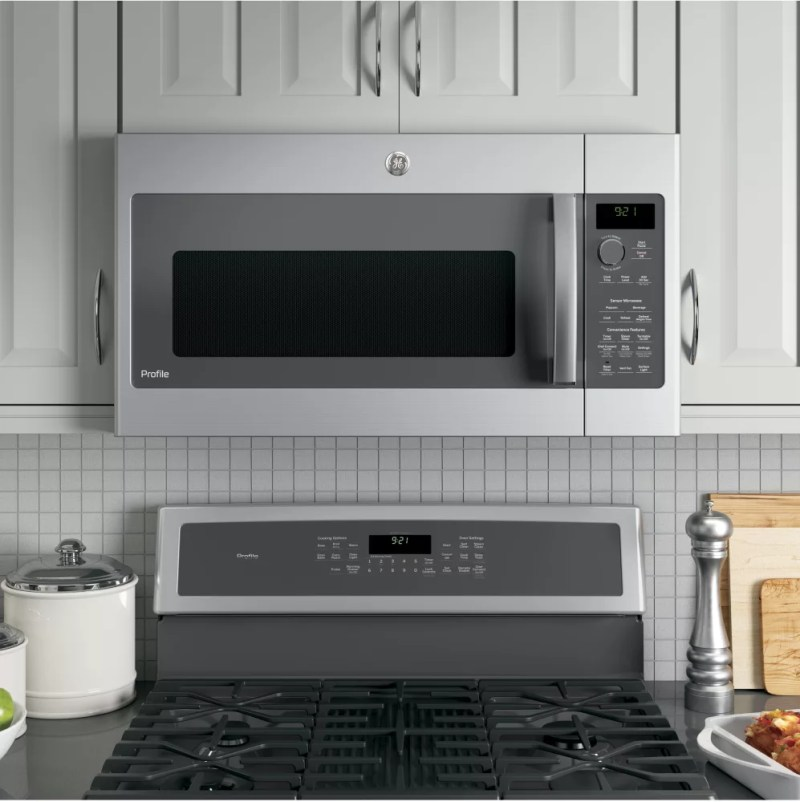 Large Of Small Over The Range Microwave