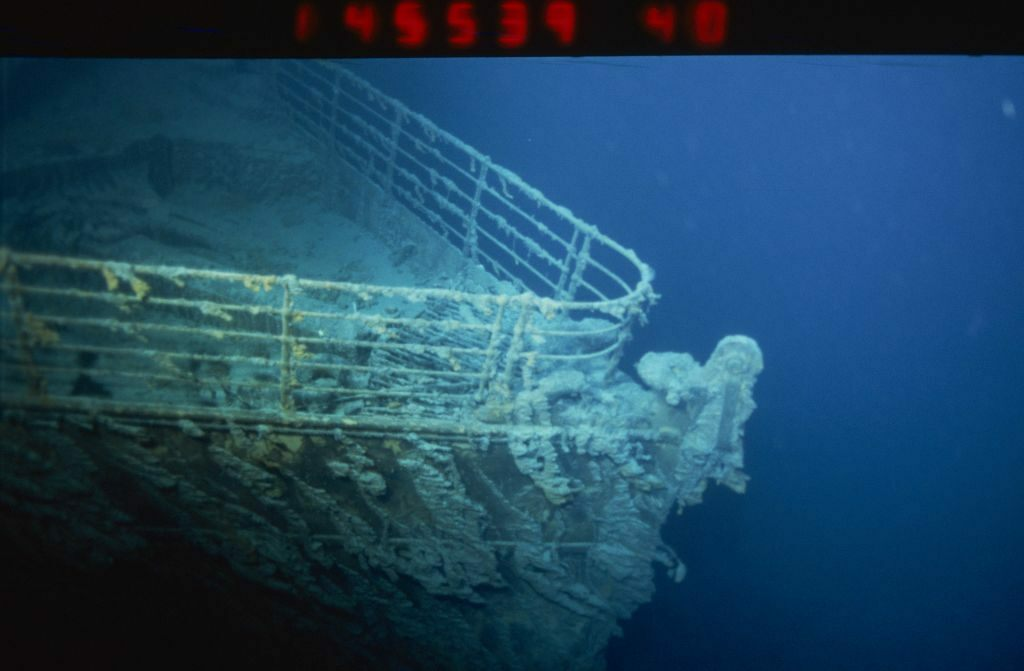 The Titanic Wreck Is a Landmark Almost No One Can See   Atlas Obscura The wreck of the RMS  em Titanic  em