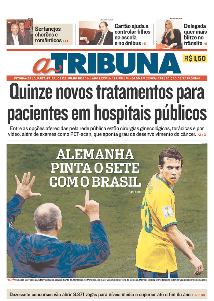 29 - Germany paints their own 7 on Brazil reference to quotpainting the 6quot winning a 6th championship