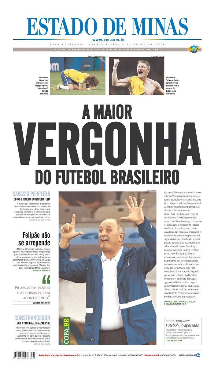 51 - The biggest disgrace in Brazilian soccer