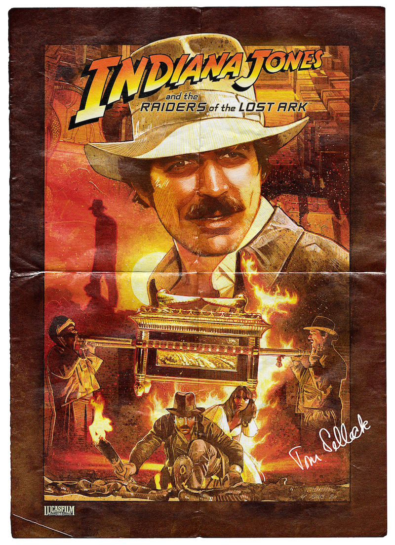 Tom Selleck é Indiana Jones
