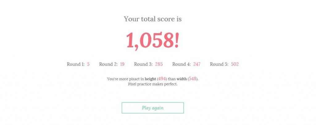 your-score-pixactly