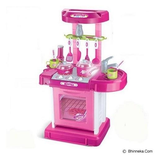 mainan edukasi kitchen set koper