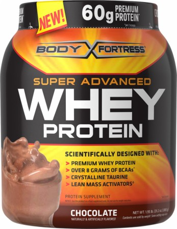 Body Fortress Super Advanced Whey Protein - 2 Lbs. - Chocolate Peanut Butter
