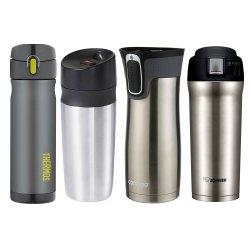 Small Crop Of Designer Coffee Travel Mugs