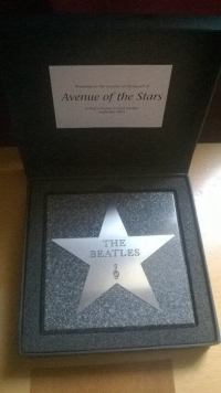 Paul McCartney London Walk of Fame Star