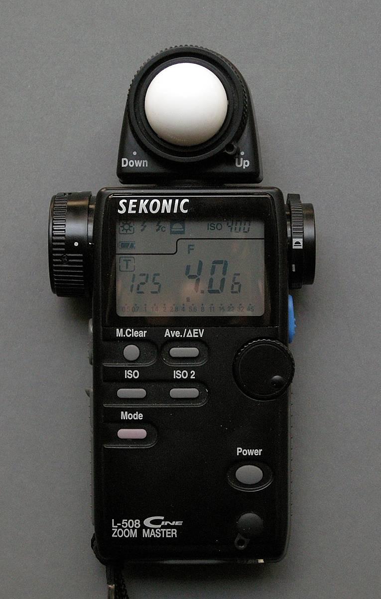Fullsize Of Sekonic Light Meter