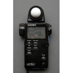 Small Crop Of Sekonic Light Meter